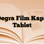 Degra Film Kaplı Tablet