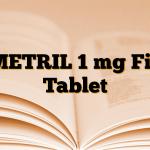 EMETRIL 1 mg Film Tablet