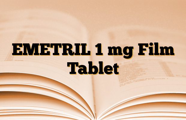 EMETRIL 1 mg Film Tablet