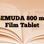 GEMUDA 800 mg Film Tablet