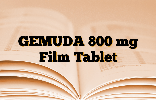 GEMUDA 800 mg Film Tablet