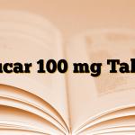 Glucar 100 mg Tablet