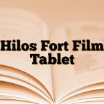 Hilos Fort Film Tablet