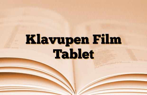 Klavupen Film Tablet
