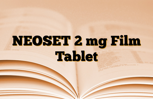 NEOSET 2 mg Film Tablet