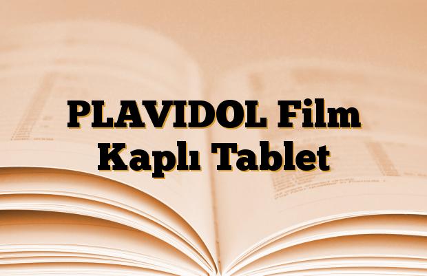 PLAVIDOL Film Kaplı Tablet