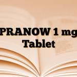 PRANOW 1 mg Tablet