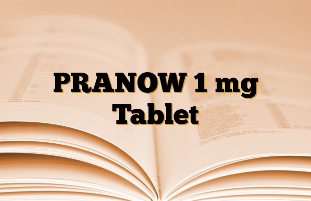 PRANOW 1 mg Tablet