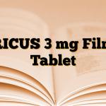 RICUS 3 mg Film Tablet