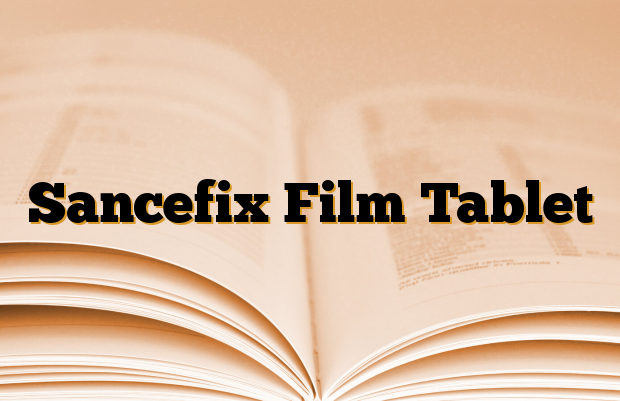 Sancefix Film Tablet