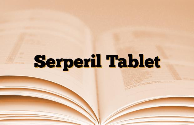 Serperil Tablet