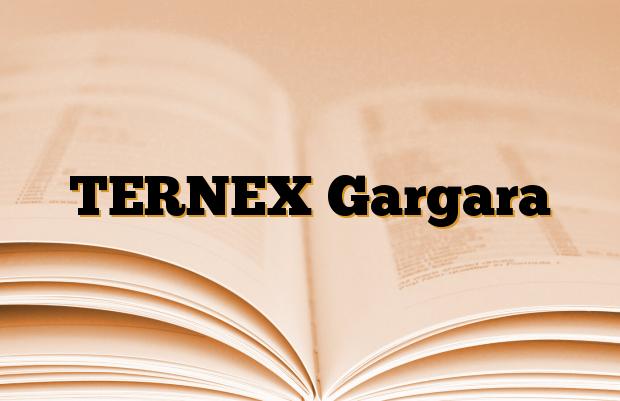 TERNEX Gargara