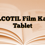 TILCOTIL Film Kaplı Tablet