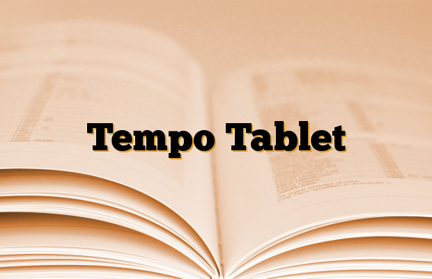 Tempo Tablet