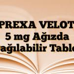 ZYPREXA VELOTAB 5 mg Ağızda Dağılabilir Tablet