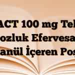 ACT 100 mg Tek Dozluk Efervesan Granül İçeren Poşet