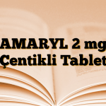 AMARYL 2 mg Çentikli Tablet