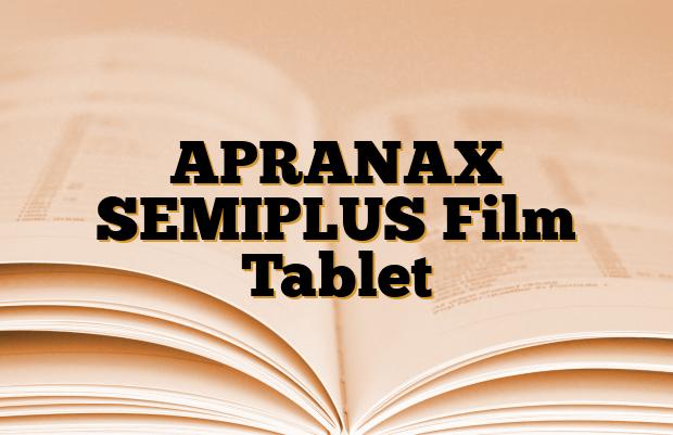 APRANAX SEMIPLUS Film Tablet