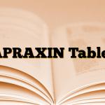 APRAXIN Tablet