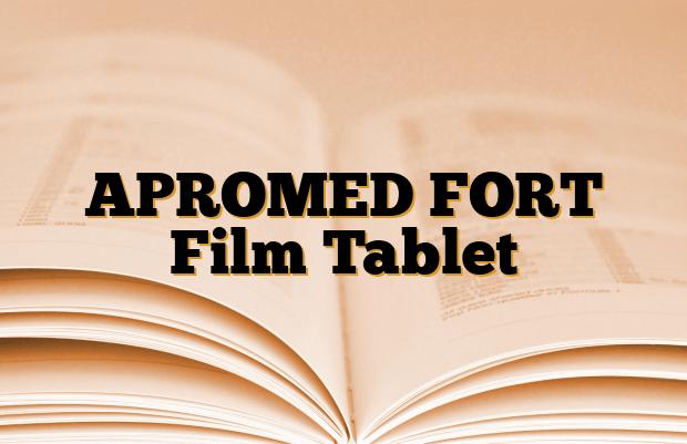 APROMED FORT Film Tablet