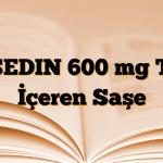 ASEDIN 600 mg Toz İçeren Saşe