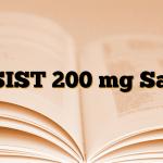 ASIST 200 mg Saşe
