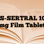 AS-SERTRAL 100 mg Film Tablet