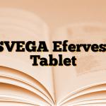 ASVEGA Efervesan Tablet