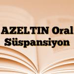 AZELTIN Oral Süspansiyon