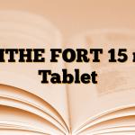 BLITHE FORT 15 mg Tablet