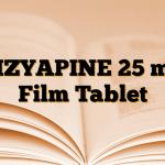 CIZYAPINE 25 mg Film Tablet