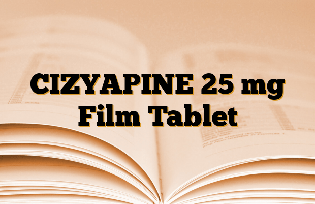 CIZYAPINE 25 mg Film Tablet