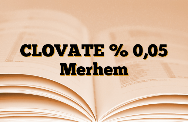 CLOVATE % 0,05 Merhem