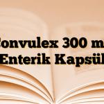 Convulex 300 mg Enterik Kapsül