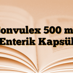 Convulex 500 mg Enterik Kapsül