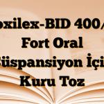 Croxilex-BID 400/57 Fort Oral Süspansiyon İçin Kuru Toz