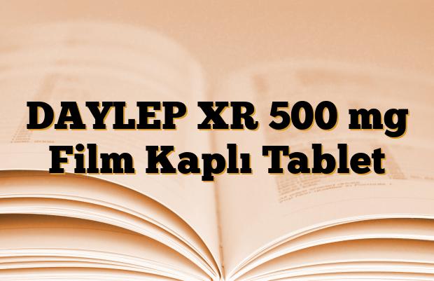 DAYLEP XR 500 mg Film Kaplı Tablet