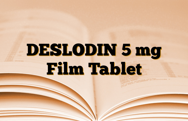 DESLODIN 5 mg Film Tablet