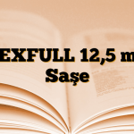 DEXFULL 12,5 mg Saşe