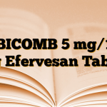 EBICOMB 5 mg/10 mg Efervesan Tablet