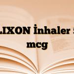 FLIXON İnhaler 50 mcg