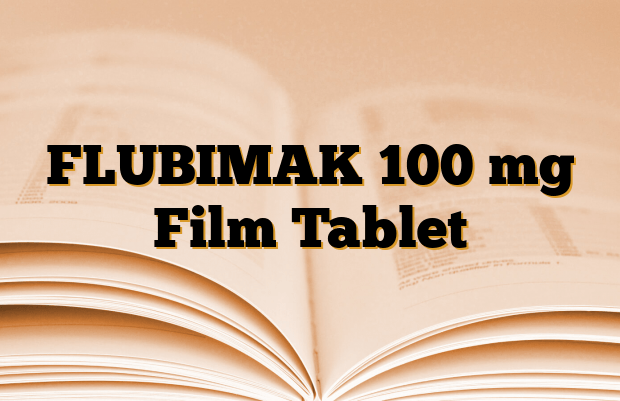 FLUBIMAK 100 mg Film Tablet