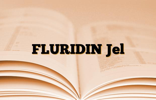 FLURIDIN Jel