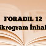 FORADIL 12 mikrogram İnhaler