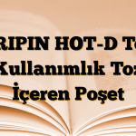 GRIPIN HOT-D Tek Kullanımlık Toz İçeren Poşet