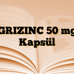 GRIZINC 50 mg Kapsül