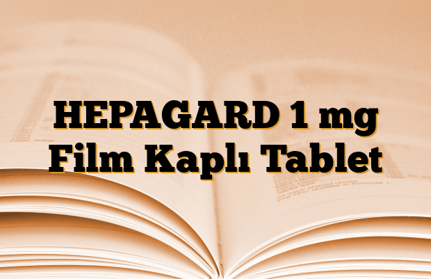 HEPAGARD 1 mg Film Kaplı Tablet
