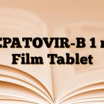HEPATOVIR-B 1 mg Film Tablet