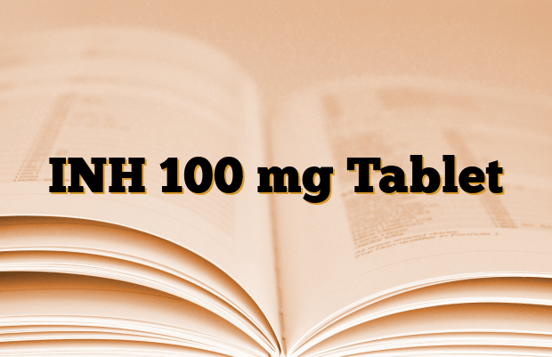 INH 100 mg Tablet