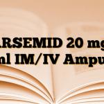KARSEMID 20 mg/2 ml IM/IV Ampul